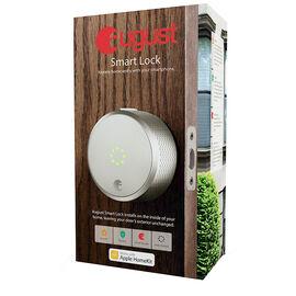 August Smart Lock HomeKit - Silver - AUG-SL02-M0