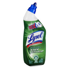 Lysol Toilet Bowl Cleaner with Bleach - 710ml