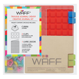 WAFF Mini Combo Journal - Red