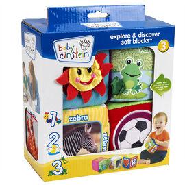 Baby Einstein Explore & Discover Soft Blocks - 4 piece