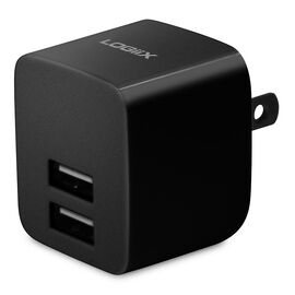 Logiix USB Power Cube Rapide Dual USB AC Charger