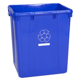 Scepter Recycling Bin - Blue - 90L