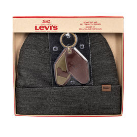 Levi's Beanie Hat and Key Fob Bottle Opener - Assorted - One Size