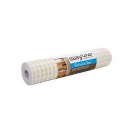 Shurtech Smooth Top Easy Liner - Sandstone Gingham - 12 inches x 5 feet