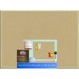 Board Dudes Wood Framed Cork Board - 17 x 23inch