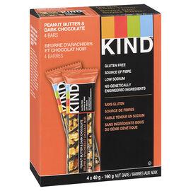 Kind Bar - Peanut Butter Dark Chocolate - Gluten Free - 4 pack/160 g