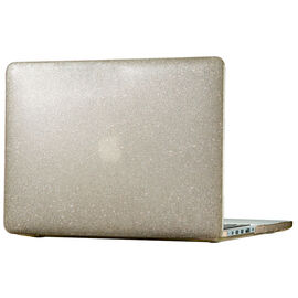 Speck SmartShell Case for 2016 MacBook Pro 13inch - Clear Gold Glitter - SPK-86400-5636