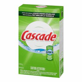 Cascade Dishwasher Powder - Fresh Scent - 2.83kg