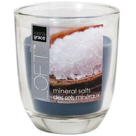 Kiera Grace Loft Glass Jar Candle - Mineral - 3.9oz