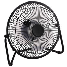 Logiix USB Retro Fan Large - Black - LGX-10843