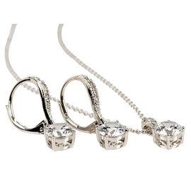 Eliot Danori Pendant Necklace and Earring Set
