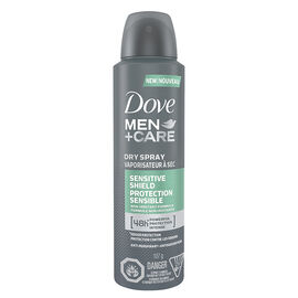Dove Men+Care Dry Spray Antiperspirant - Sensitive Shield - 107g