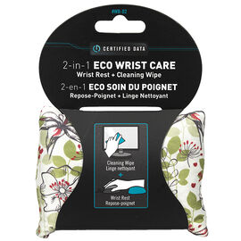 Certified Data 2-in-1 Wrist Rest Cleaning Cloth - WR-02