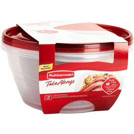 Rubbermaid Take Alongs Serving Bowl - 2 Pack