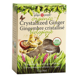 The Ginger People Organic Crystallized Ginger - 112g