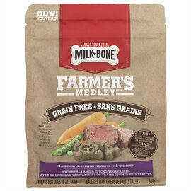 Milkbone Farmer's Medley - Lamb - 340g