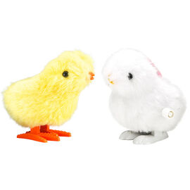 Easter Wind Up Chick & Bunny - 3.5inch