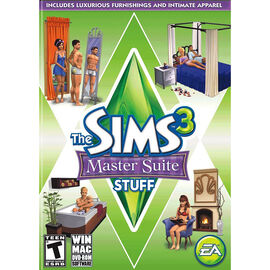 The Sims 3 Master Suite Stuff