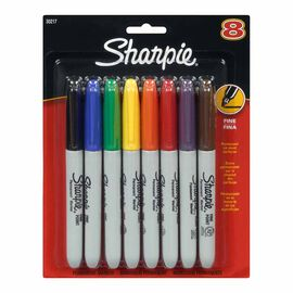 Sharpie Fine Point Permanent Markers - 8 pack