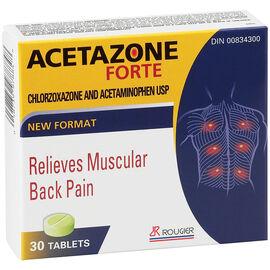 Tech-Azetazone Forte Back Pain Remedy - 30's