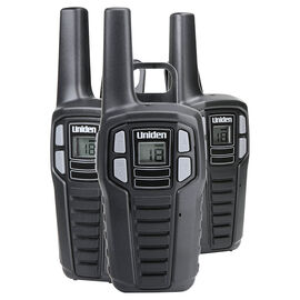 Uniden GMRS Radio 3 Pack - Black - SX1673CH