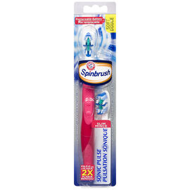 Arm & Hammer Spinbrush Sonic Pulse Slim Toothbrush Assorted