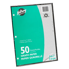 Hilroy Graph Paper