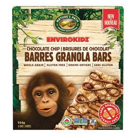 Nature's Path Envirokidz Granola Bars - Chocolate Chip - 144g