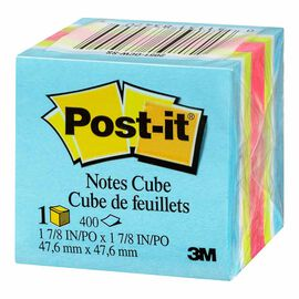 Post-it Notes - Neon Striped - 400 sheets