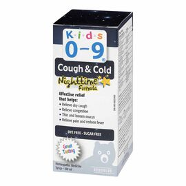 Homeocan Kids Cough/Cold Nighttime - 0-9 months - 100ml