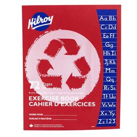 Hilroy 8mm Wide Recycled Exercise Book - 72 page - 12901