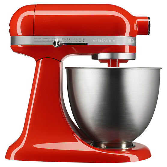 KitchenAid 3.5Q Artisan Mini Mixer - Hot Sauce