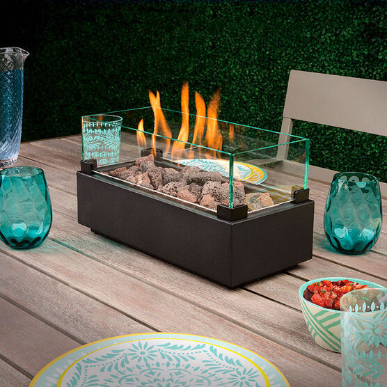 Bond Table Fire Bowl - 35.56 x 16.51 x 19.05cm