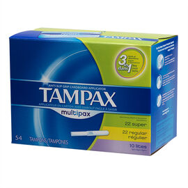 Tampax Tampons Multipax - 54's