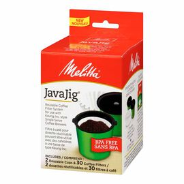 Melitta Java Jig Starter Kit - 2 cups/30 filters