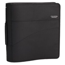 Five Star Zipper Binder with Handle - Assorted - 3 Inch