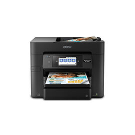 Epson WorkForce Pro WF-4740 All-in-One Printer - Black - C11CF75201