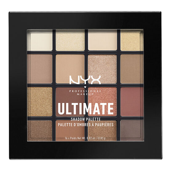 NYX Professional Ultimate Shadow Palette - Warm Neutrals
