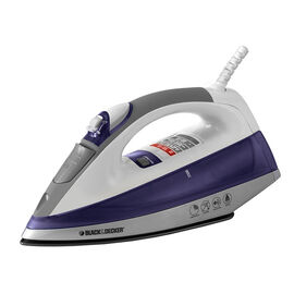 Black & Decker Digital Iron - White/Blue - IR1370C