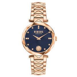 Versace Versus Covent Garden Ladies Watch - Rose Gold/Blue - SCD130016