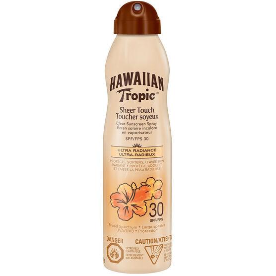 Hawaiian Tropic Sheer Touch Sunscreen Spray - SPF 30 - 170ml