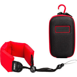 Olympus Tough Accessory Pack - Black and Red - V600067BW010