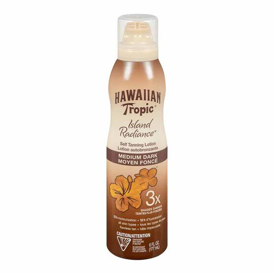 Hawaiian Tropic Island Radiance Self Tanning Lotion - Medium/Dark - 177ml