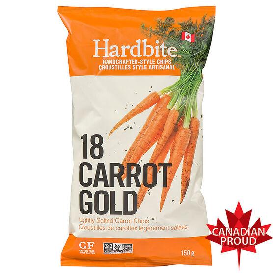 Hardbite Carrot Chips - 150g