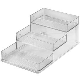 InterDesign Linus Stadium Spice Rack - Clear - 62030
