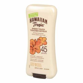 Hawaiian Tropic Sheer Touch Sunscreen Lotion - SPF 45 - 240ml