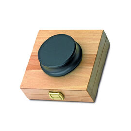Pro-Ject Record Puck with Wood Storage Box - Black - PJ07689075
