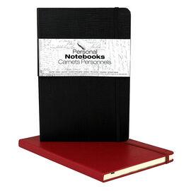 Spicebox Personal Notebook - Black/Burgundy - 2 Pack