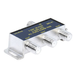 UltraLink 3-Way Splitter for RG6 Coaxial Cable - UHS61