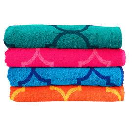 Boutique Jacquard Beach Towel - Assorted